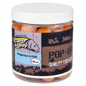 Plovoucí boilies CARP ONLY Tangerine & Fish 80g