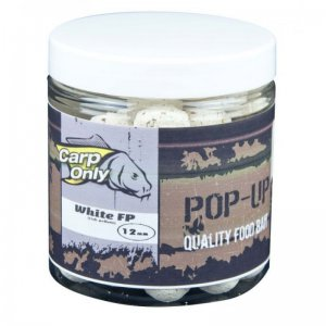 Plovoucí boilies CARP ONLY White FP 80g