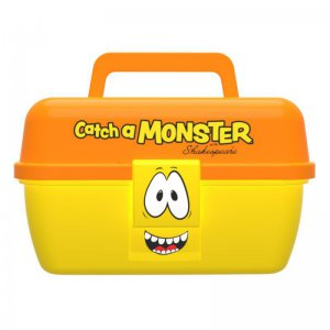 Dětský kufřík Shakespeare Catch a Monster Purple Tackle Box
