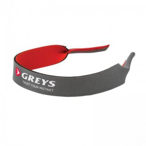 Šňůrka na krk Greys Lanyard Grey Red